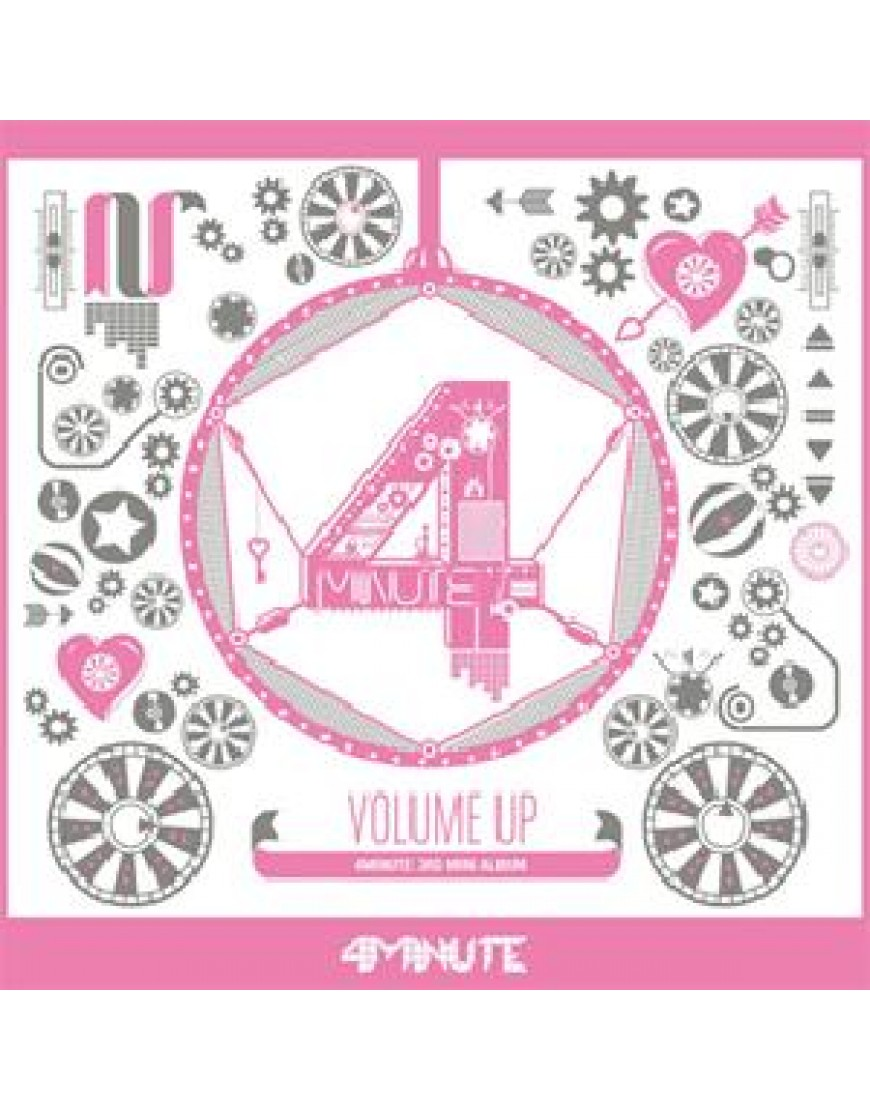 4Minute - Mini Album Vol.3 [Volume Up] popup