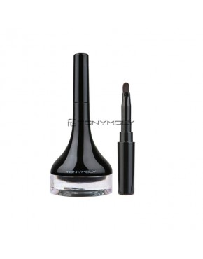 Tonymoly Back Gel Eyeliner Long Brush 4g