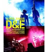 DONGHAE & EUNHYUK- SUPER JUNIOR D&E The 1st Japan Tour 2014 [Limited Edition]  Blue-ray