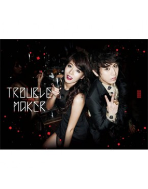 JS(Beast) & Hyun Ah(4Minute)] - Mini Album [Trouble Maker]