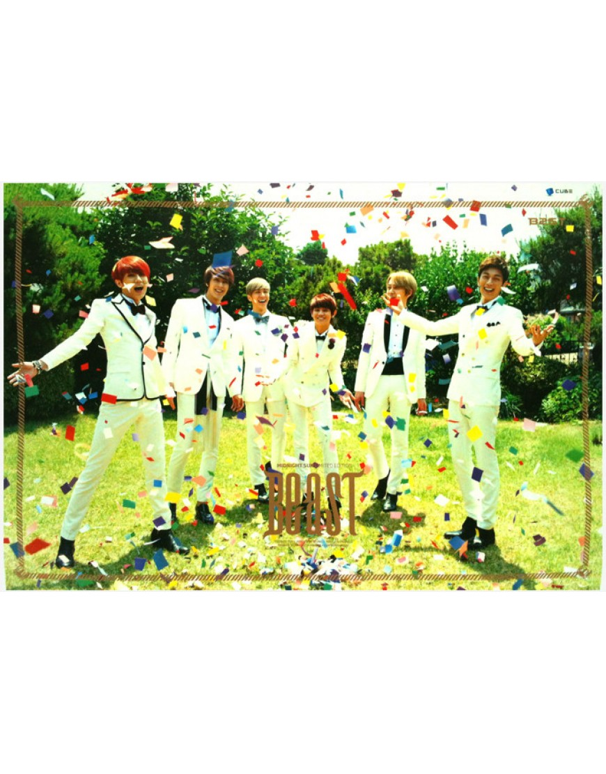 BEAST - Midnight Sun [LIMITED Edition] TIPO B OFICIAL POSTER  popup