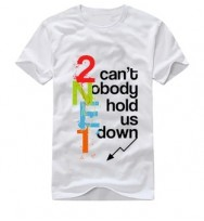 Camiseta 2NE1 Can't Nobody Hold Us Down