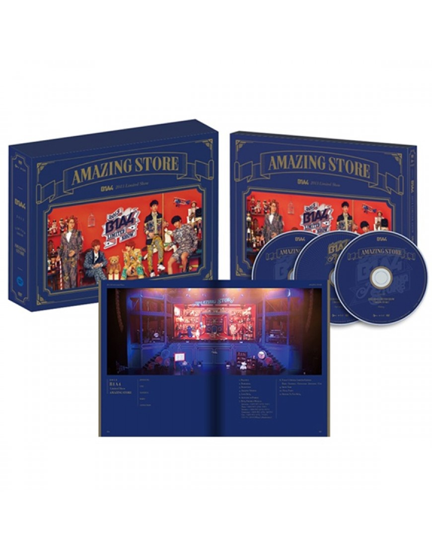B1A4 - 2013 B1A4 Limited Show [Amazing Store] popup