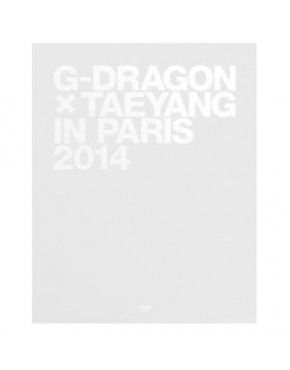 Photobook G-DRAGON X TAEYANG IN PARIS 2014