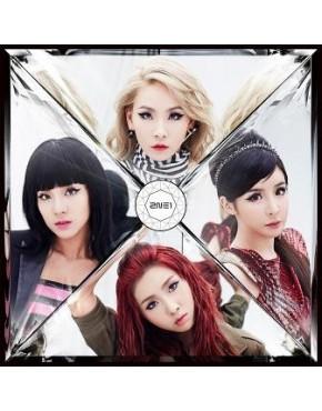 2NE1- Crush [CD+DVD / Tipo B]