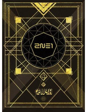 2NE1 Crush [2CD+DVD+PHOTOBOOK / Limited Edition / Tipo A]