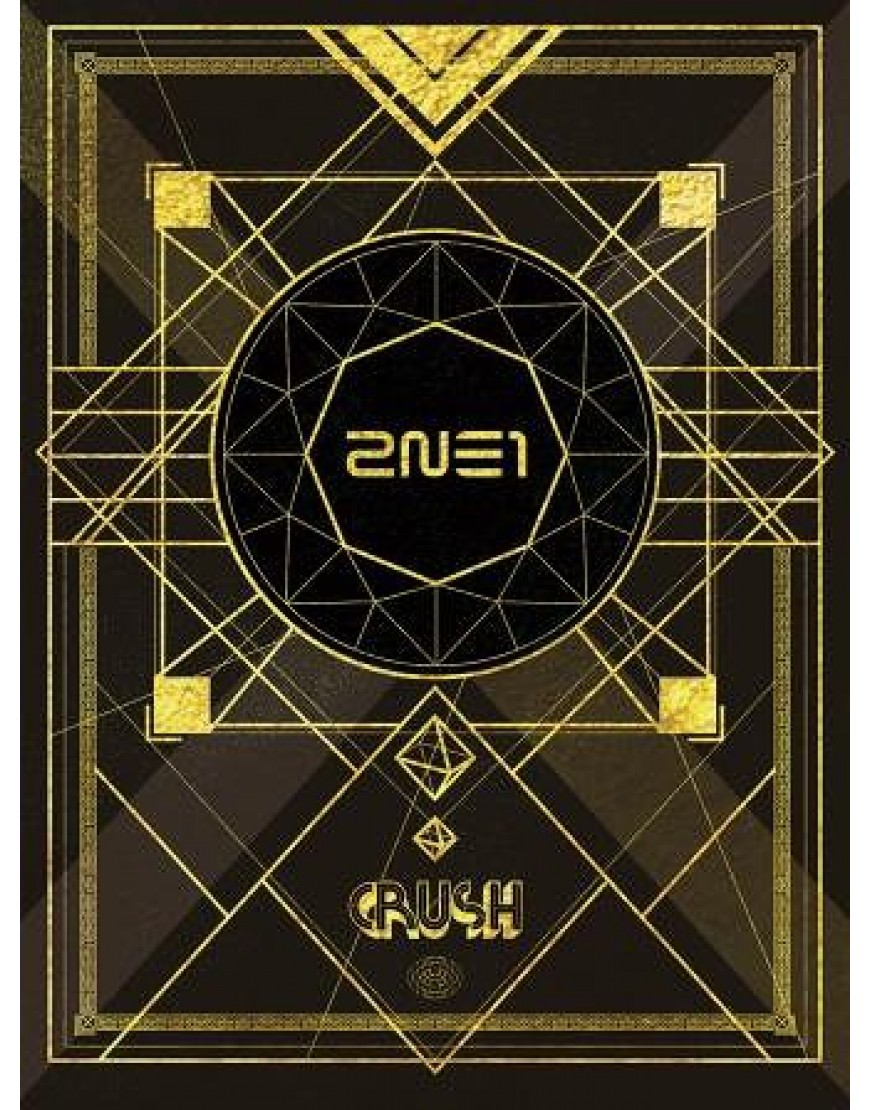 2NE1 Crush [2CD+DVD+PHOTOBOOK / Limited Edition / Tipo A]  popup