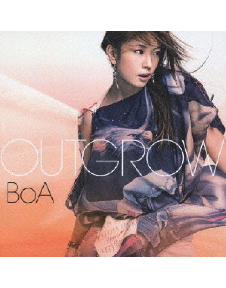 BoA- Outgrow [Tipo B / Regular Edition]  popup