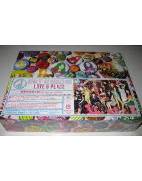 GIRLS GENERATION LOVE&PEACE CD+Blu-ray+Goods Deluxe Limited
