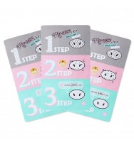 Holika Holika Pig Nose Clear Black Head 3 Step Kit ( 3pcs )