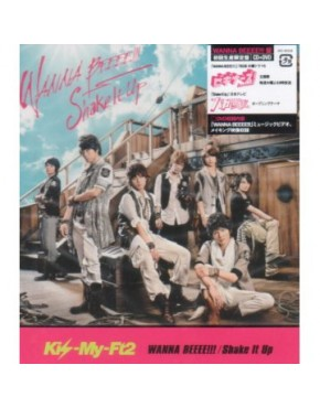 "Kis-My-Ft2-  WANNA BEEEE!!! / Shake It Up [Limited Edition ""WANNA BEEEE!!! ban"" / Jacket A]"