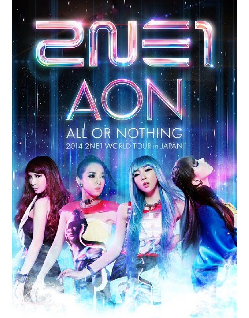 2014 2NE1 WORLD TOUR -ALL OR NOTHING- in Japan popup
