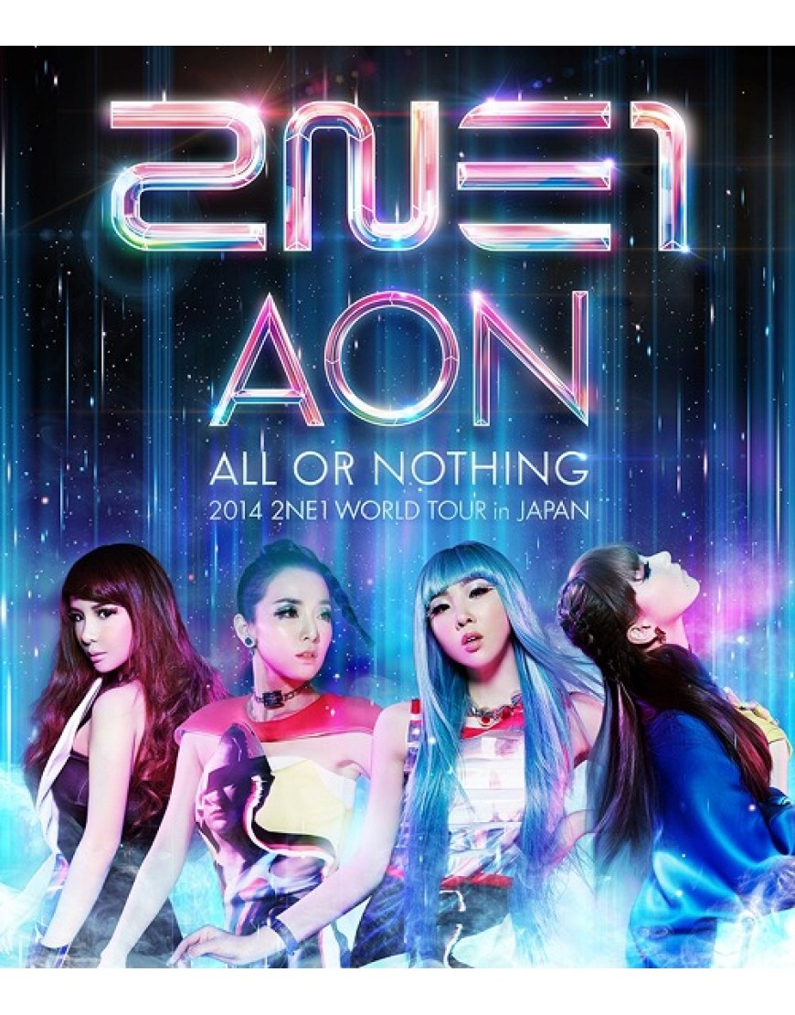 2014 2NE1 WORLD TOUR -ALL OR NOTHING- in Japan Blue Ray popup