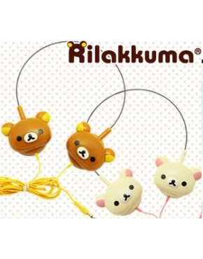 Headphone Rilakkuma