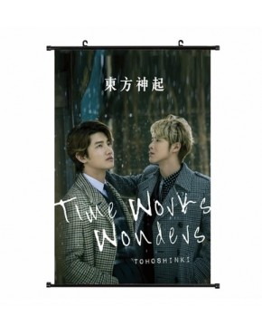 BANNER TVXQ/TOHOSHINKI TIME WORKS
