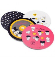 BTS - HIP HOP MONSTER Mouse Pad