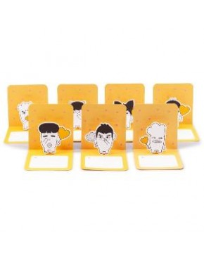 BTS - HIP HOP MONSTER POP UP Card