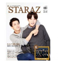 STARAZ 2014.10 (B.A.P : Himchan & Youngjae / TEEN TOP / Jay Park) + BTS Photobook