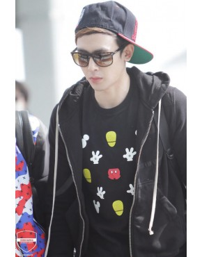 Camiseta 2PM NICHKHUN MICKEY