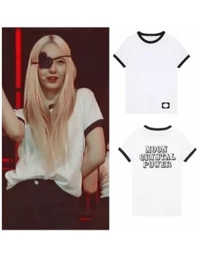 CAMISETA MOON CRYSTAL POWER F(X) RED LIGHT