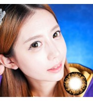 CIRCLE LENS Misty Night - Brown