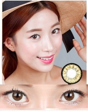 CIRCLE LENS Killer Smile Brown