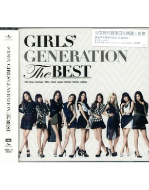 Girls' Generation THE BEST 2014 Taiwan CD Normal Edition