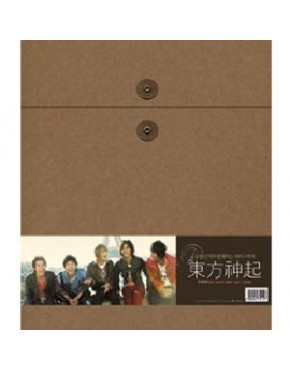 Photo Book Dong Bang Shin Ki : BONJOUR TVXQ (Special Limited) [Photo book(3set) + Diary + DVD]