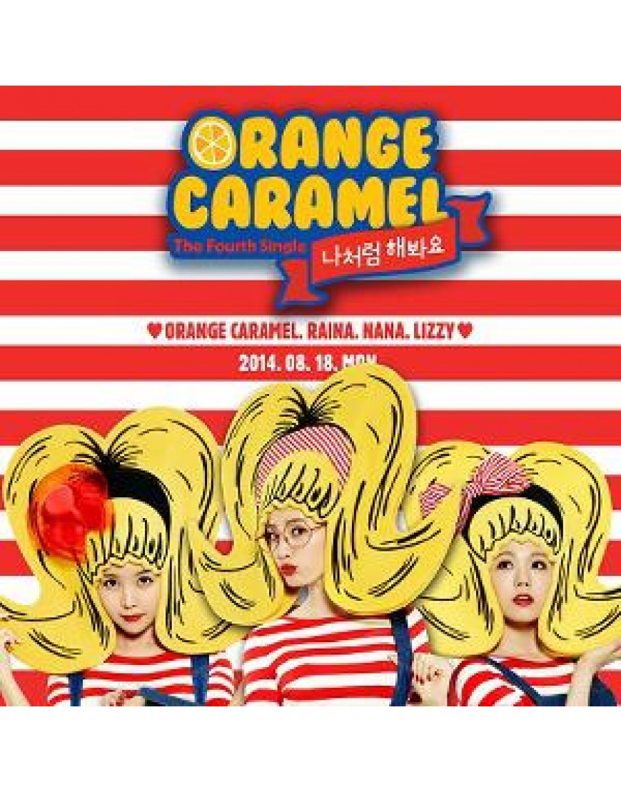 After School: Orange Caramel - Single Album Vol.4 [Try Doing It Like Me] popup