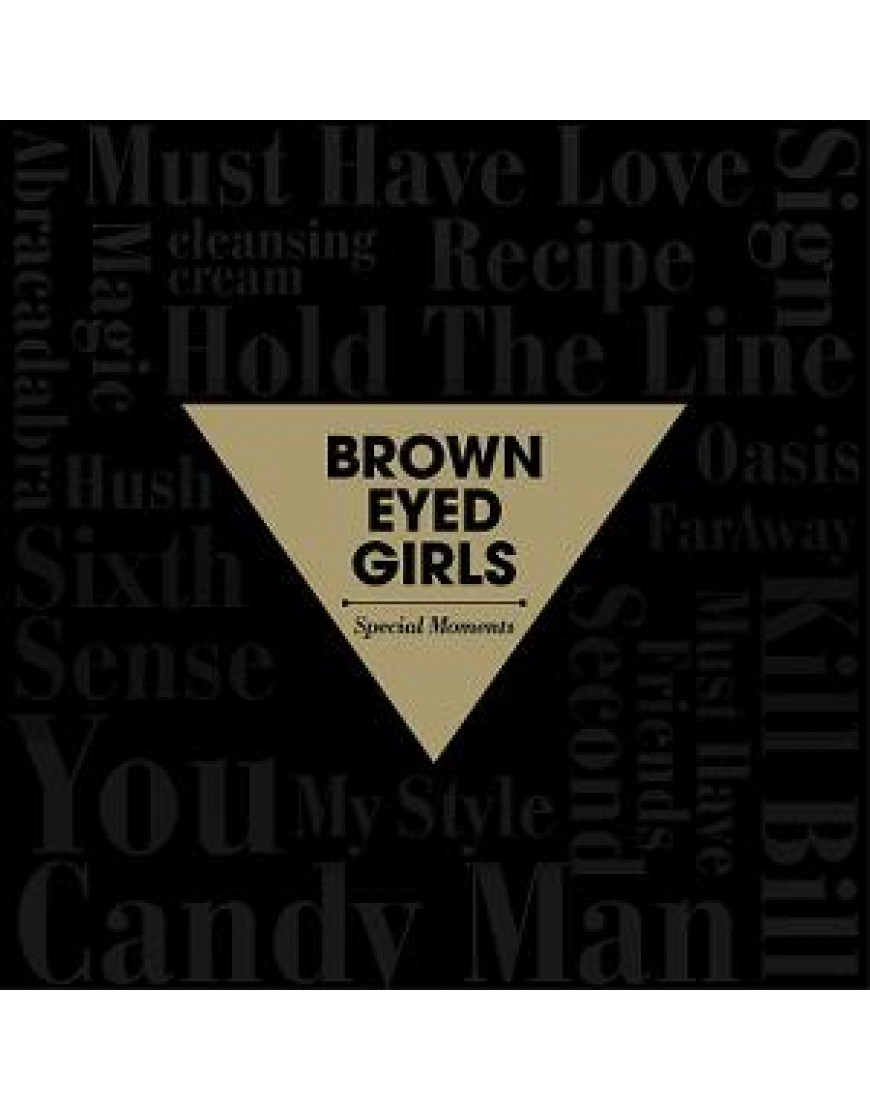 Brown Eyed Girls - Best [Special Moments] popup