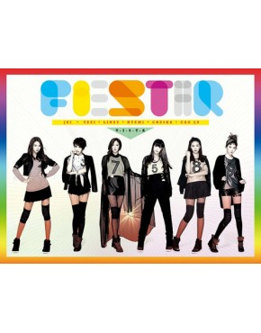 FIESTAR - Vista [1st Single Album] CD