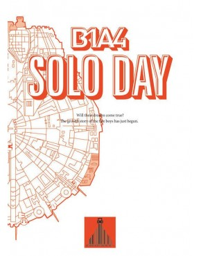 B1A4 - Mini Album Vol.5 [SOLO DAY] ( Tipo B- White Version)