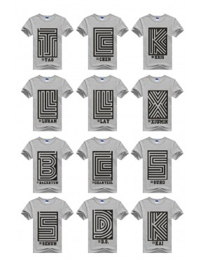 Camiseta EXO Membros Overdose