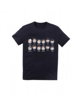 Camiseta EXO Membros Face