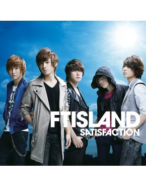 FTISLAND Satisfaction [com DVD, Limited Edition / Tipo B]