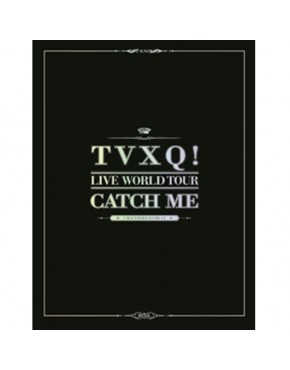 Dong Bang Shin Ki - [TVXQ! LIVE WORLD TOUR CATCH ME] ( Photobook)