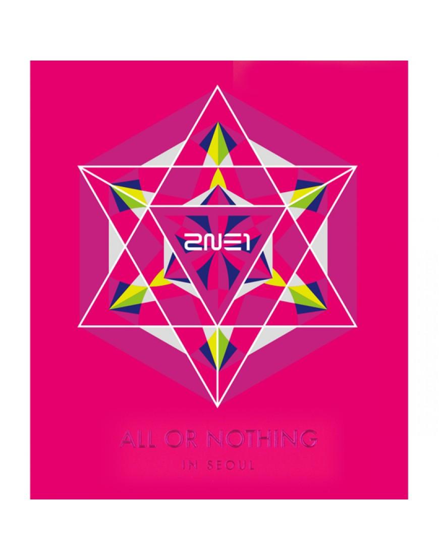 2NE1 - 2014 2NE1 WORLD TOUR LIVE CD [ALL OR NOTHING in SEOUL]  popup