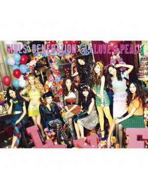 Girls Generation - Japanese Vol.3 [Love & Peace] (CD+DVD First Limited)
