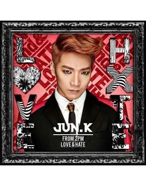 JUn K- Love & Hate [Regular Edition]