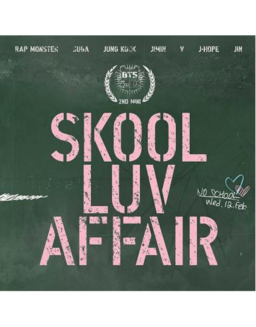 BTS - Mini Album Vol. 2 [Skool Luv Affair]  popup