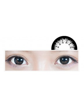 Circle Lense Princess Night - Black