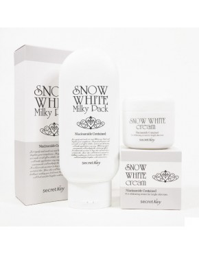 Secret key-  Snow White Cream + Snow White Milky Pack