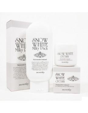 Secret key-  Snow White Cream + Snow White Milky Pack
