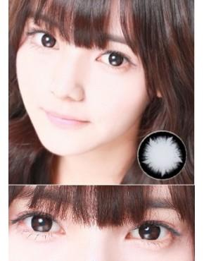 CIRCLE LENS Glam Eye  Crystal - Black