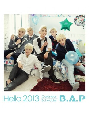 2013 Official Calendar B.A.P - Hello 2013