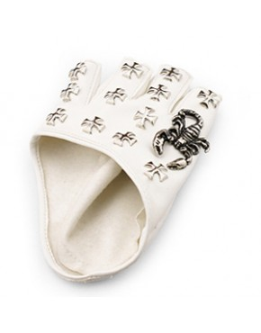 Luva Punk curta ( sem dedo)