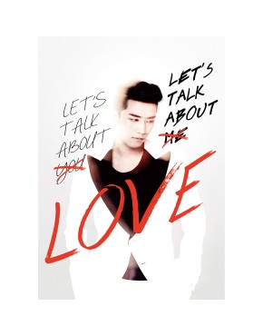 Big Bang : Seung Ri - Mini Album Vol.2 [LETS TALK ABOUT LOVE] (RED&WHITE Ver.)
