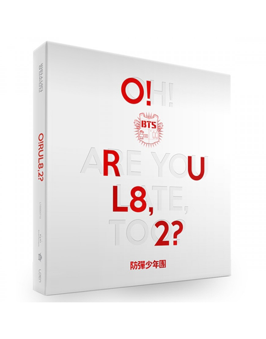 BTS - Mini Album Vol. 1 [O!RUL8.2?]  popup