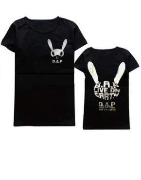 Camiseta B.A.P Live on the Earth