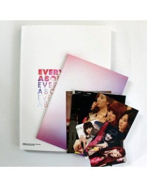 Girl's Generation TIFFANY Photobook(everything about the Girl)